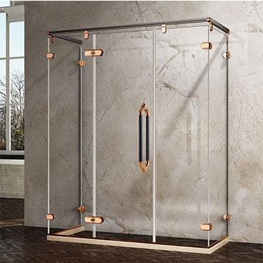 不锈钢淋浴房的地观做成拉槽,有什么特点