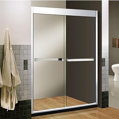 淋浴房分为两种:框架式和无框架式