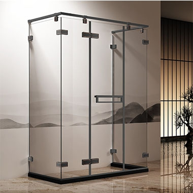广东淋浴房浅述该淋浴房采用双层防水橡胶条结构