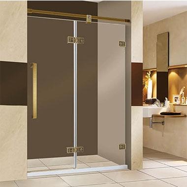 淋浴房分为有框房和无框房