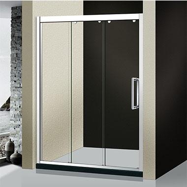 淋浴房內外线框历经打磨抛光打磨抛光,倾斜度幽美