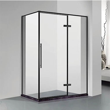 不锈钢板中山淋浴房便是用金属材质做的边框
